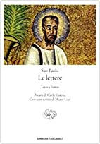 Le Lettere (Italian Edition) by San Paolo