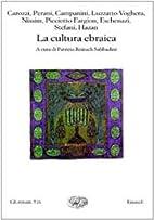 La cultura ebraica by Mauro Perani