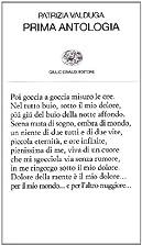 Prima antologia by Patrizia Valduga
