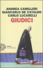Giudici by Andrea Camilleri