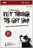 Banksy: Exit through the gift shop. DVD. Con libro