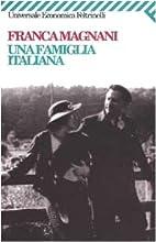 ˆUna ‰famiglia italiana by Franca Magnani