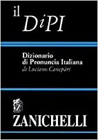 Il DiPI: Dizionario di pronuncia italiana by…