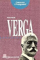 Giovanni Verga by Nicola Merola