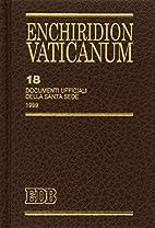 18: Documenti ufficiali della Santa Sede,…