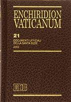 21: Documenti ufficiali della Santa Sede,…