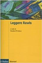 Leggere Rawls by V. Ottonelli