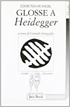 Glosse a Heidegger by Edmund Husserl