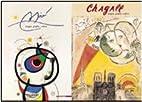 Chagall-Miró. Magia, grafia, colore by…