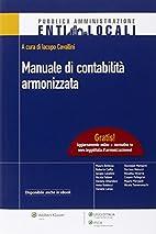 Manuale di contabilità armonizzata by…