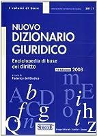 Nuovo dizionario giuridico. Enciclopedia di…