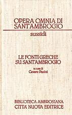 Tutte le opere di Sant'Ambrogio. 24,1 :…