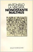 Nonostante Malthus. Fecondità, popolazioni…