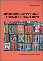 Operations, supply chain e strategie…