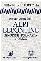 Alpi Lepontine. Sempione – Formazza –…
