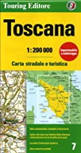 Toscana Map (Touring Club Italiano) by…