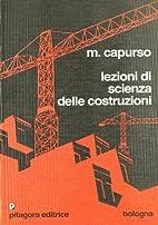 Lezioni di scienza delle costruzioni by…