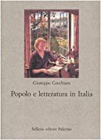 Popolo e letteratura in Italia by Giuseppe…