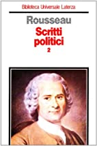 Scritti politici vol. 2 - Manoscritto di…