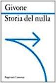 Storia del nulla by Sergio Givone