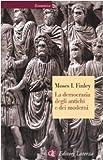 Moses I. Finley: La democrazia degli antichi e dei moderni