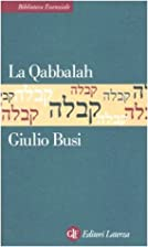 La Qabbalah by Giulio BUSI