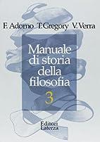 MANUALE STORIADELLA FILOSOFIA VOL.3 by…