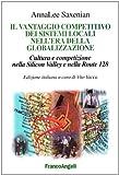 Annalee Saxenian: Il vantaggio competitivo dei sistemi locali nell'era della globalizzazione. Cultura e competizione nella Silicon Valley e nella Route 128