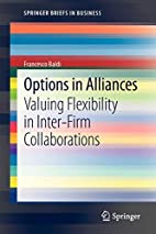 Options in alliances valuing flexibility in…