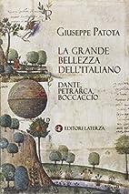 La ‰grande bellezza dell'italiano: Dante,…