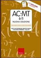 AC-MT 6-11. Test di valutazione delle…