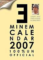 EMINEM 2007 calendar by Eminem