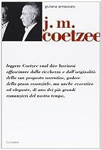 J. M. Coetzee by Giuliana Iannàccaro