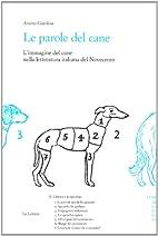 Le parole del cane: l'immagine del cane…
