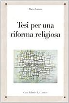 Tesi per una riforma religiosa by Marco…