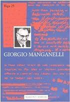 Giorgio Manganelli by Marco Belpoliti