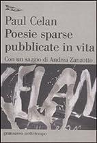 Poesie sparse pubblicate in vita by Paul…