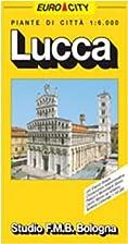 Lucca, pianta della citta (Italian Edition)…