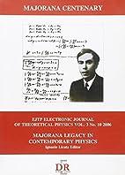 Majorana legacy in contemporary physics by…
