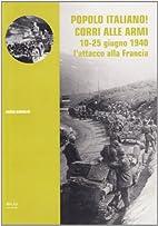 Popolo italiano| corri alle armi: 10-25…