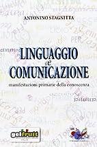 Linguaggio e comunicazione. Manifestazioni…
