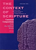 The Context of Scripture (3 vols) by William…