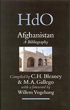 Afghanistan: A Bibliography (Handbook of…