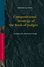Compositional Strategy of the Book of Judges…