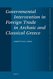Governmental Intervention in Foreign Trade…