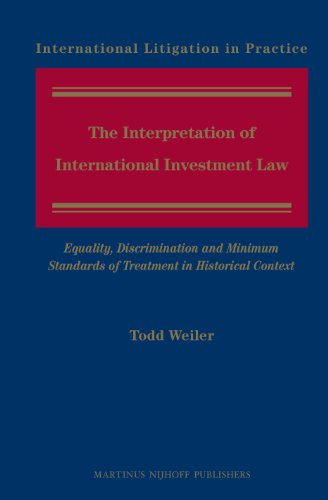 the-interpretation-of-international-investment-law-equality-discrimination-and-minimum-standards-of-treatment-in-historical-context