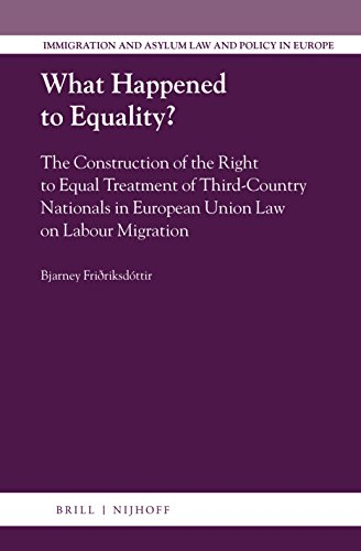 what-happened-to-equality-the-construction-of-the-right-to-equal-treatment-of-third-country-nationals-in-european-union-law-on-labour-migration-immigration-and-asylum-law-and-policy-in-europe