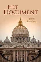 Het document by Jacob Slavenburg