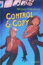 Control & copy by Mirjam Oldenhave