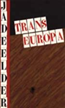 Transeuropa: Gedichten (Dutch Edition) by…